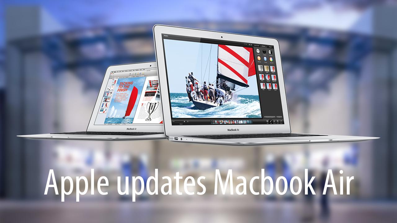 Macbook Air Refresh and Price Cut