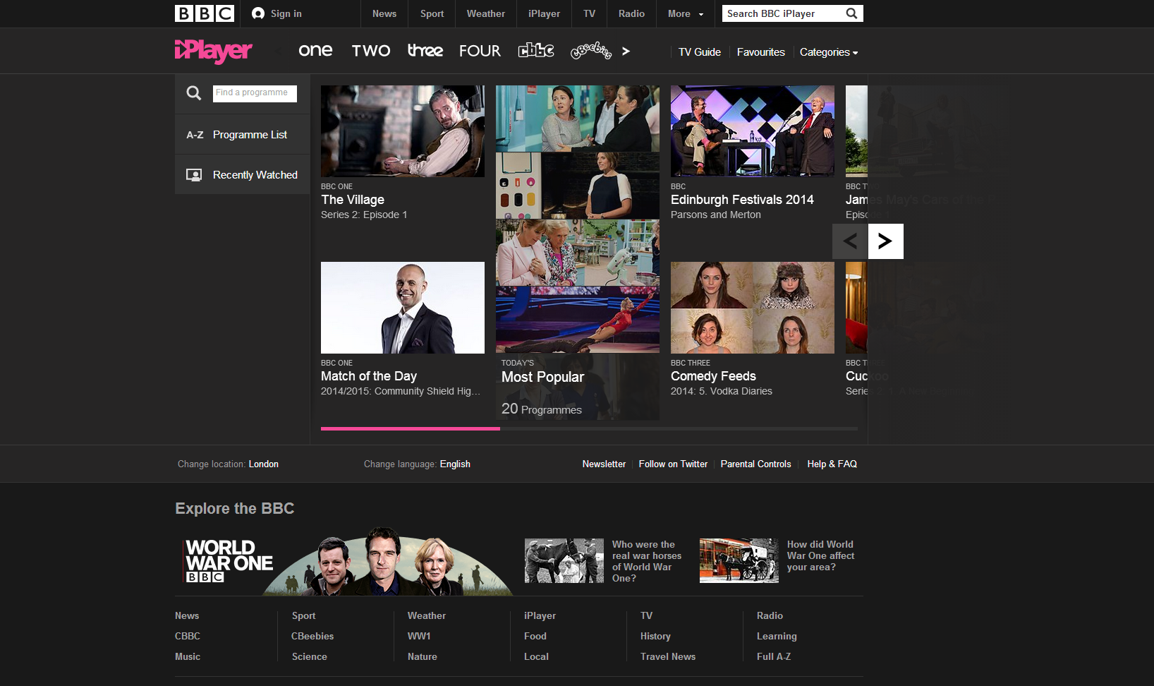BBC iPlayer launching on Xbox One by end of 2014